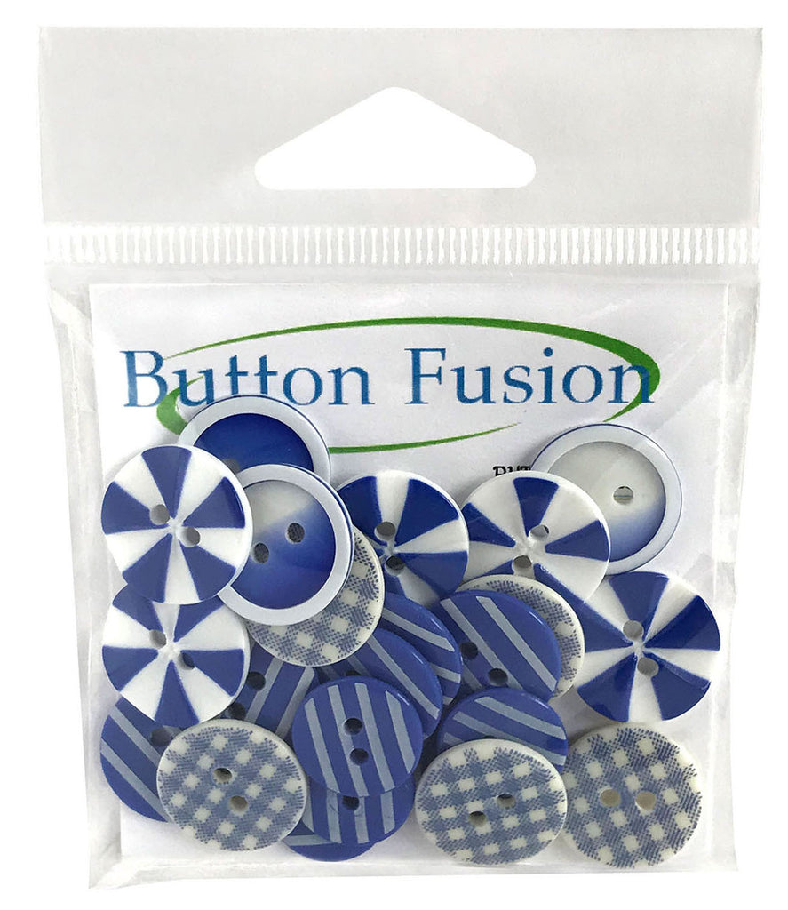 House of Blues Printed Buttons