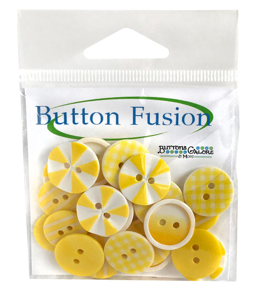 Sunburst Printed Buttons