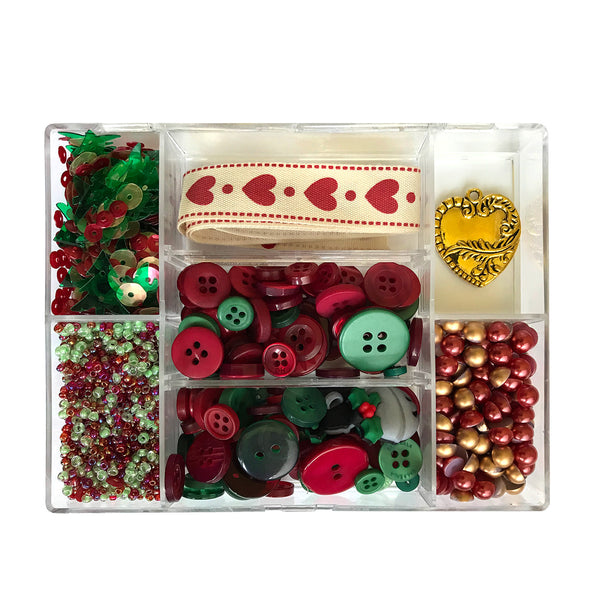 Country Christmas - Embellishment Kit
