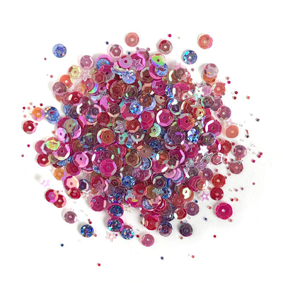 Mixed Berry Sequin Tin