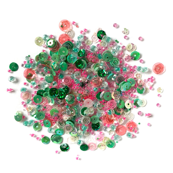 Spring Blooms Sequin & Bead Mix
