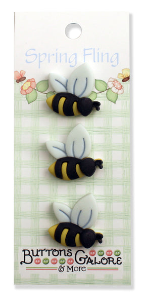 Bees 3D Buttons