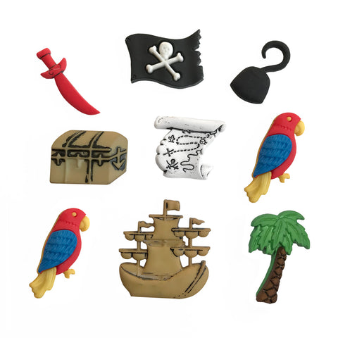 A Pirates Life Theme Buttons
