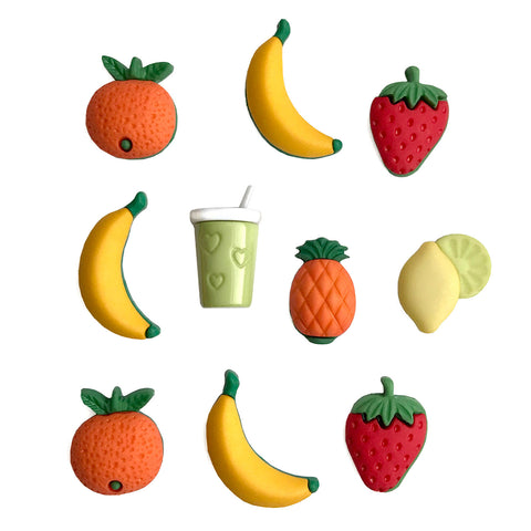 Fruit Smoothie Theme Buttons