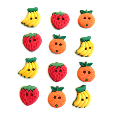 Summer Fruit Theme Buttons