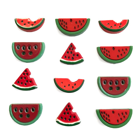 Watermelon Medley Theme Buttons