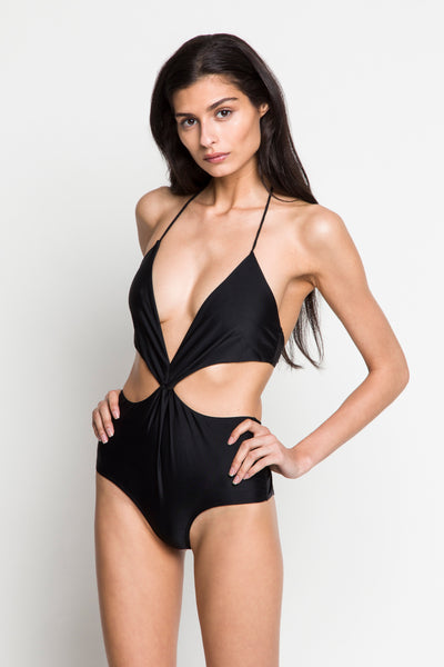 6 Shore Road |Capri One Piece| Black | Resort 2018 Collection | XS,S,M,L