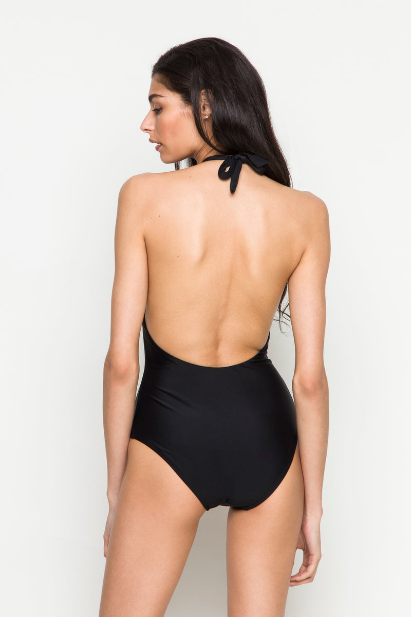 6 shore road |Eternal One Piece| Resort 2018 Collection |Black Swimsuit| XS,S,M,L