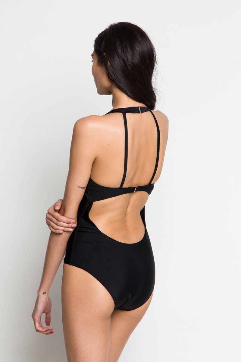 6 Shore Road | Poolside One Piece |Black| Resort 2018 Collection | XS,S,M,L