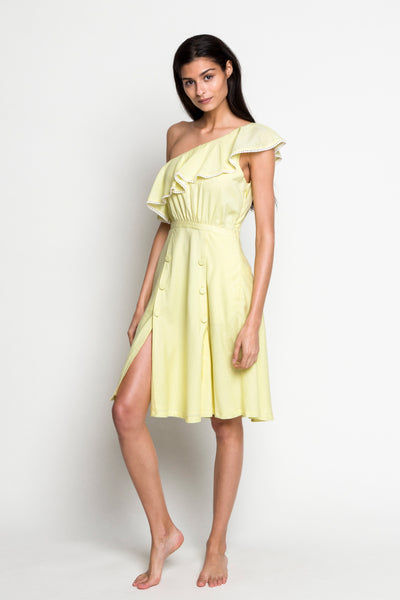 6 Shore Road |Bermuda Linen Dress |Yellow| Resort 2018 Collection | XS,S,M,L