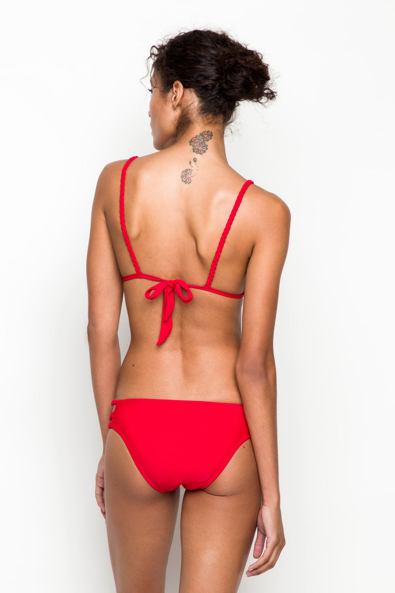 6 shore road | Shore Bikini Bottom | Spring 2018 Collection | Red Swimsuit | XS,S,M,L