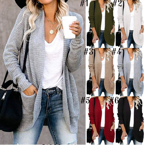 Pocket Sweater Cardigans
