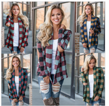 Large Check Lightweight Jackets