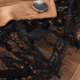 Lace Button Skirts