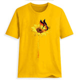 Never Give Up Sunflower Tee