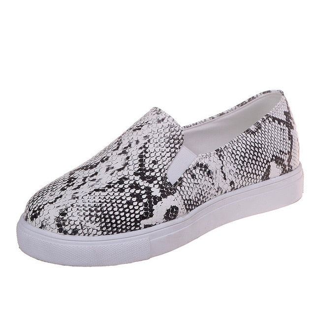 Snakeskin Print Shoes