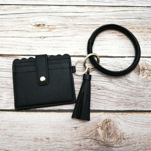 Tassel Bracelet ID/Card Holders