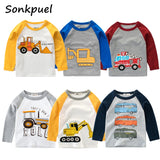 Boys Long Sleeve Automotive Shirts