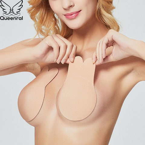Strapless Rabbit Nip Cover Bras