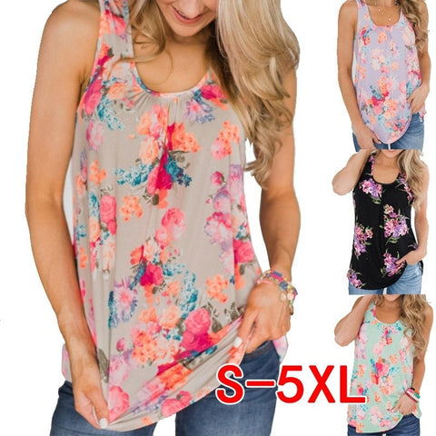 Floral Summer Tanks