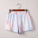 Tie Dye Pocket Shorts