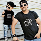 Boss Man Boss Mini Matching Shirts