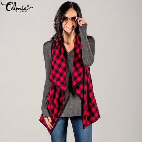 Plaid Vests