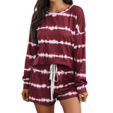 Striped Long Sleeve Pajamas