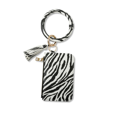 Animal Print Keyring Wallets