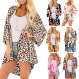 Women Half Sleeve Kimonos