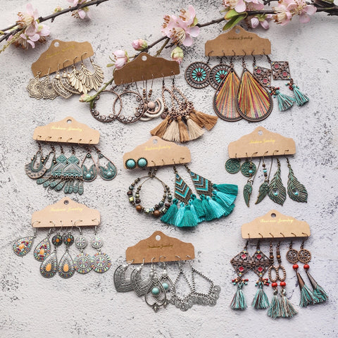 Boho Earring Sets