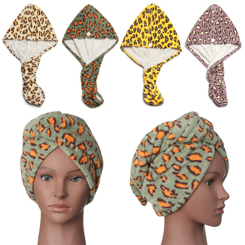 Womens Turban Hair Drying Towels