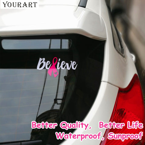 Breast Cancer Vinyl Window Car Stickers