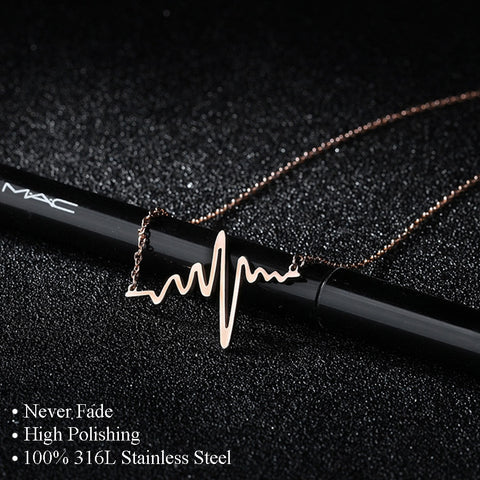 Heartbeat Necklaces