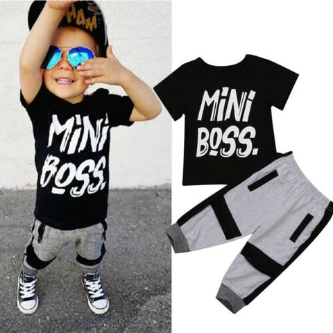 Mini Boss Kids Outfit