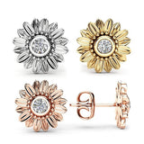 Sunflower Stud Earrings