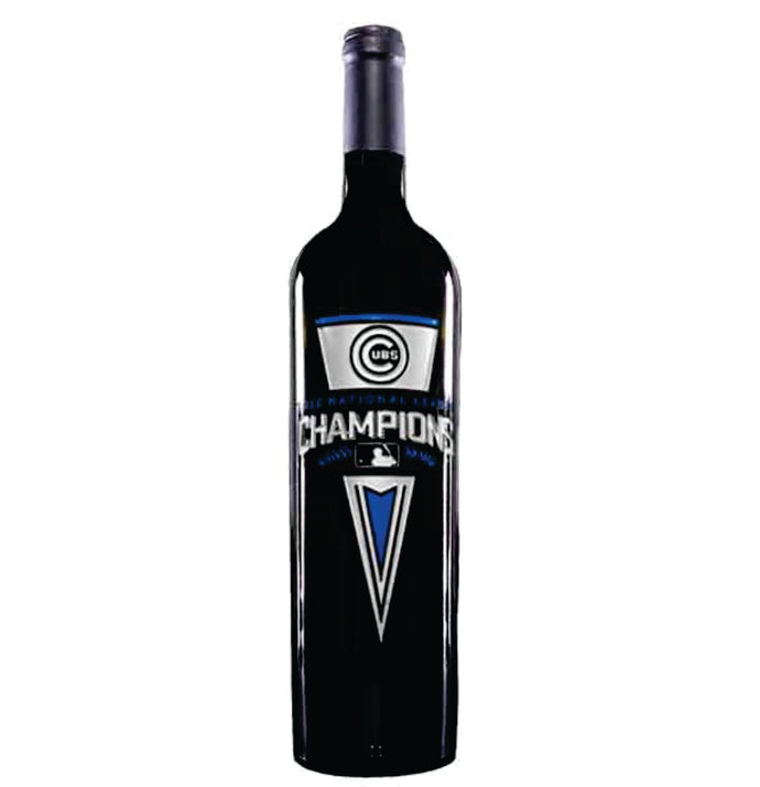 Chicago Cubs National League Champions Pennant Wine