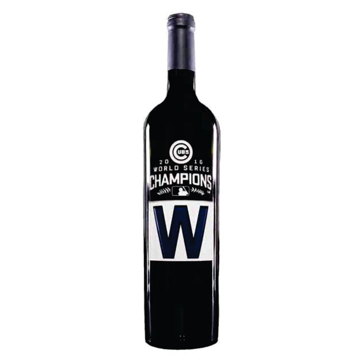 Chicago Cubs World Series W Wine