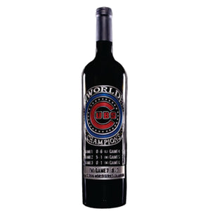Chicago Cubs World Series Ring Wine (Magnum)