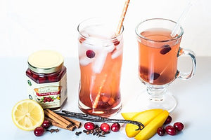 Real Fruit Tea - Cranberry Mango With Vanilla