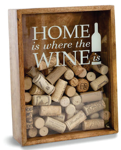 Home Is Where The Wine Is Cork Holder