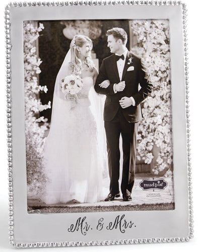 Mr. & Mrs. Microbead Frame