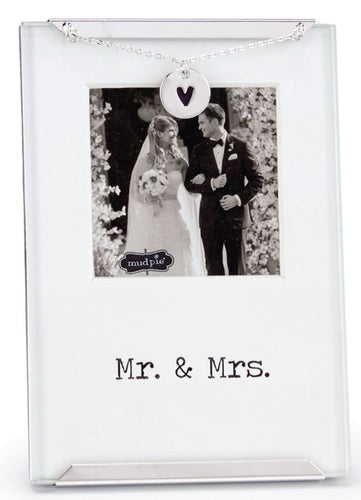 Mr. And Mrs. Clip Frame