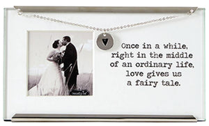 Once In A While Wedding Clip Frame