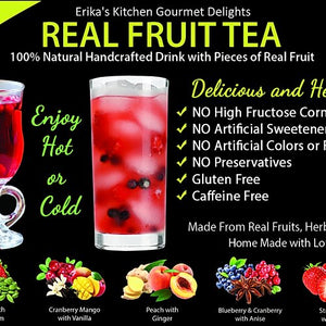 Real Fruit Tea - Twelve Pack