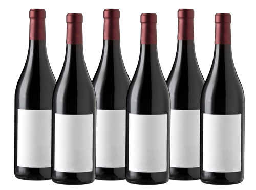 Six Bottles of Mixed Red Wine
