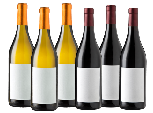 Six Bottles of Mixed Wine (3 Red Wine / 3 White Wine)