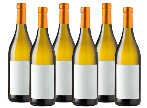 Six Bottles of Mixed White Wine