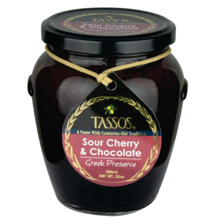 Tassos - Sour Cherry and Chocolate Marmalade