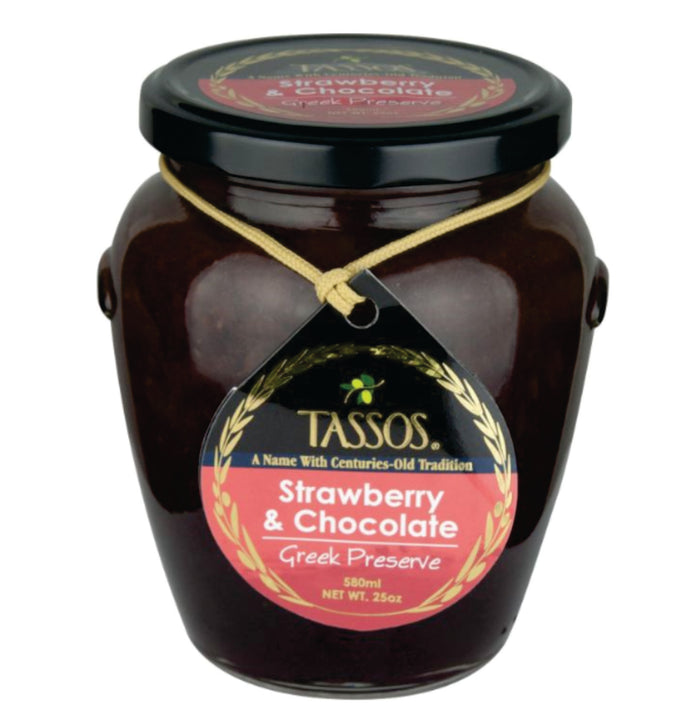 Tassos - Strawberry And Chocolate Spread